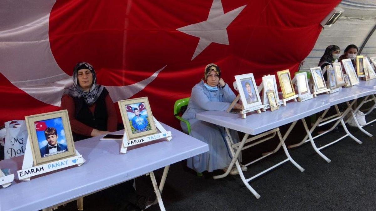 Diyarbakır da nöbete katılan ağabey: Kardeşimi HDP kaçırdı #2