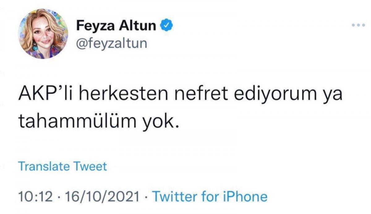 CHP li Feyza Altun: AK Partili herkesten nefret ediyorum #1