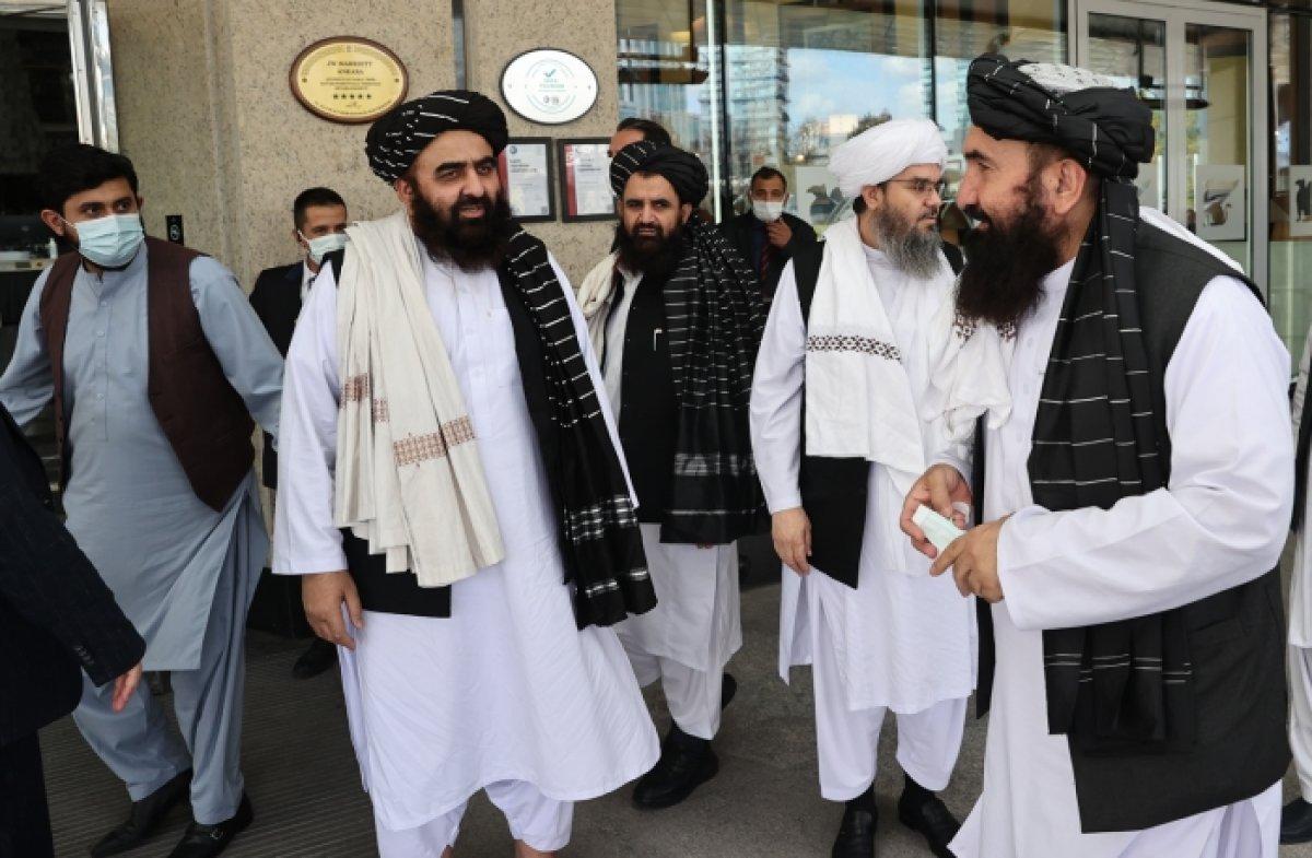 Taliban, Ankara ziyaretini değerlendirdi #3