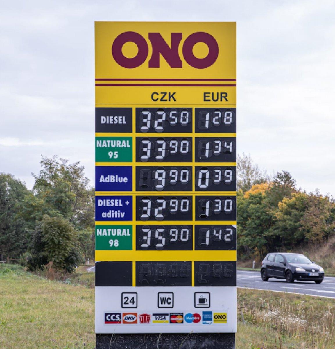 Almanlar depolarını Çekya da ucuz benzinle dolduruyor #5