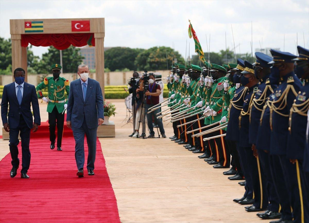 Cumhurbaşkanı Erdoğan Afrika yı ziyarette zirvede #1