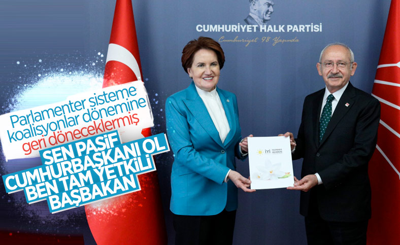 Kemal Kılıçdaroğlu ve Meral Akşener bir araya geldi