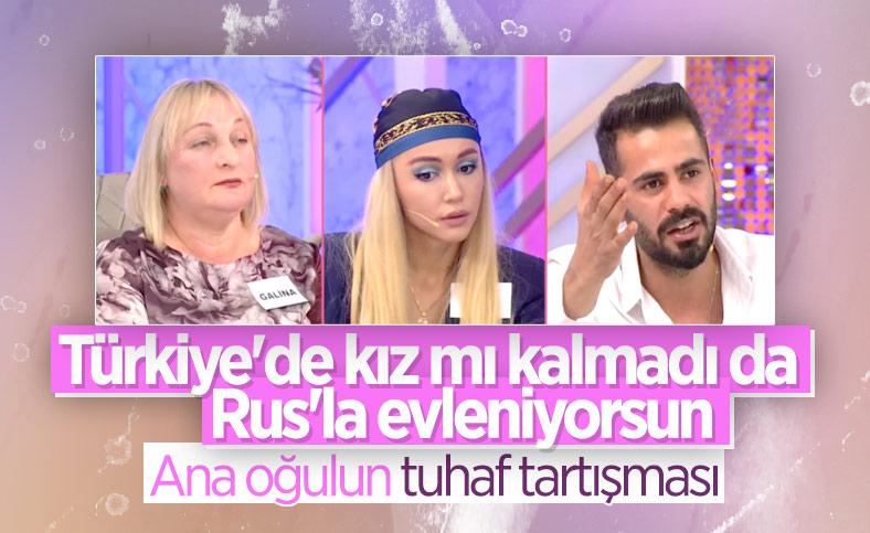 Ağrılı Fırat'ın annesi Rus gelin istemiyor: Türkiye'de kız mı yok