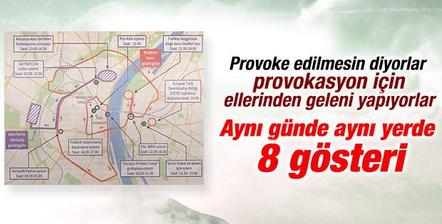 Erdoğan'ın Köln mitingi sırasında 8 gösteriye izin
