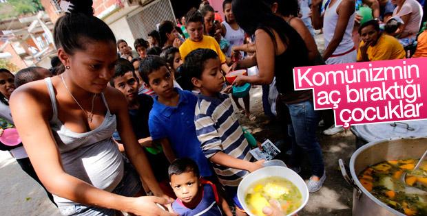 Venezuela'da halkın durumu kritik