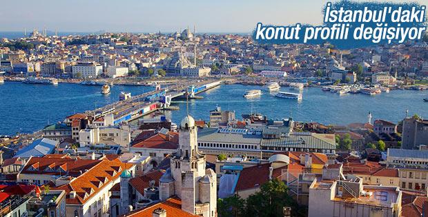 İstanbul'daki konut profili değişiyor