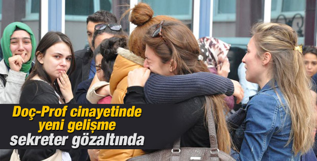 Konya'daki doçent cinayetinde sekreter de gözaltında İZLE