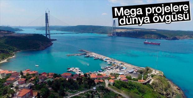 Mega projeler çıtayı yükseltti