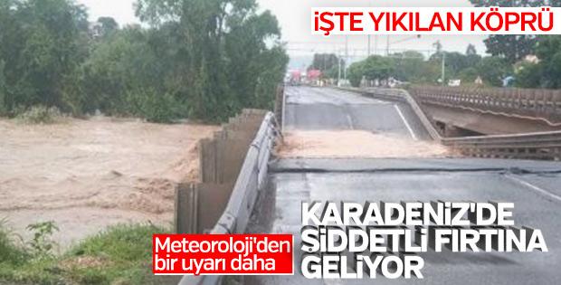 Meteoroloji'den Doğu Karadeniz için fırtına uyarısı
