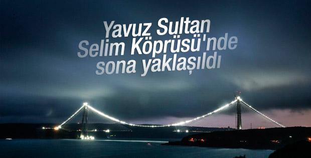 Üçüncü köprüde son 391 metre