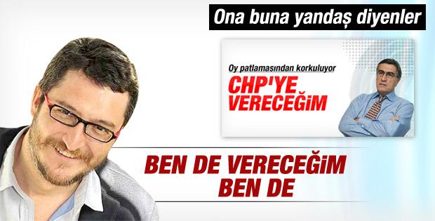 Koray Çalışkan: Oyum CHP'ye