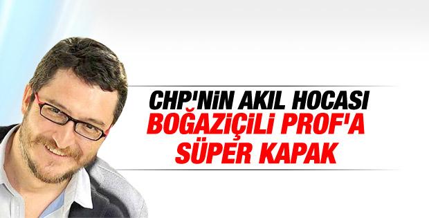 CHP'li Koray Çalışkan'a IŞİD göndermesi