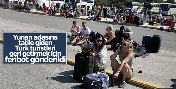 İstanköy'deki Türk turistler tahliye edildi