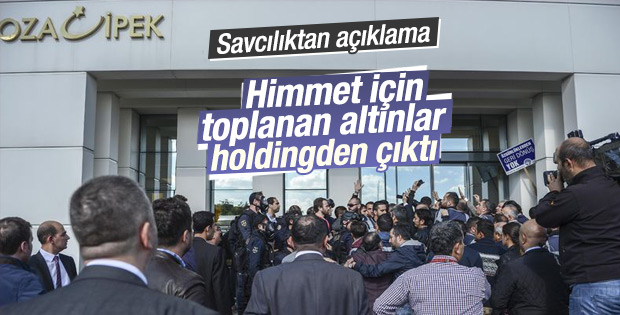 Savcılıktan Koza İpek Holding açıklaması