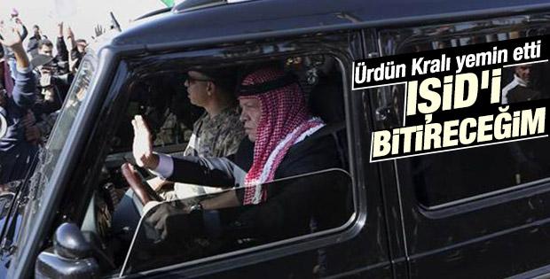 Ürdün Kralı'ndan IŞİD'i vuracağız yemini