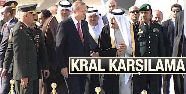 Suudi Arabistan Kralı Türkiye'ye geldi