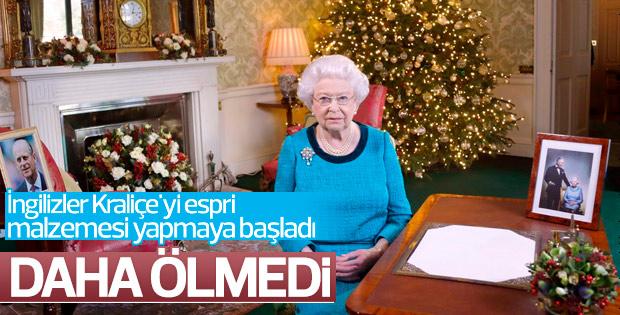Kraliçe Elizabeth yılbaşı etkinliklerine katılamadı