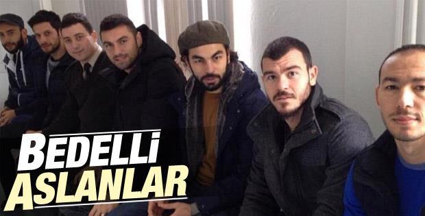 Galatasaraylı futbolcular bedelli askerlik sırasında