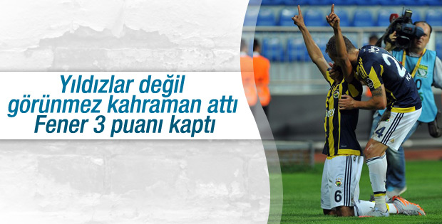 Fenerbahçe Kasımpaşa'yı deplasmanda yendi