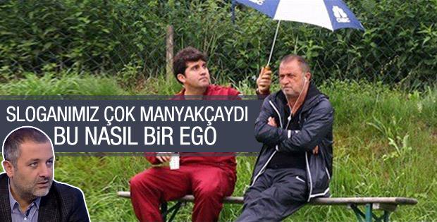 Mehmet Demirkol'dan Fatih Terim'e slogan göndermesi