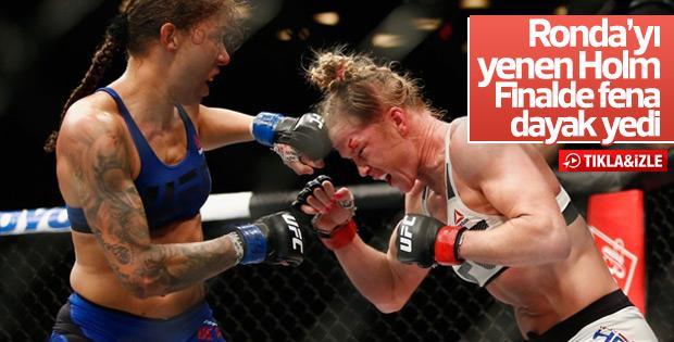 Kadınlar kafes dövüşünde Randamie şampiyon oldu - İZLE