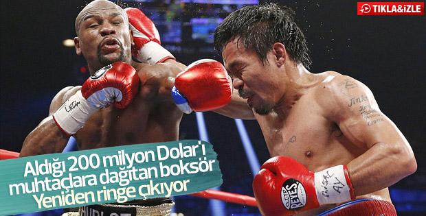 Manny Pacquiao unvan maçında Amir Khan ile karşılaşacak - İZLE