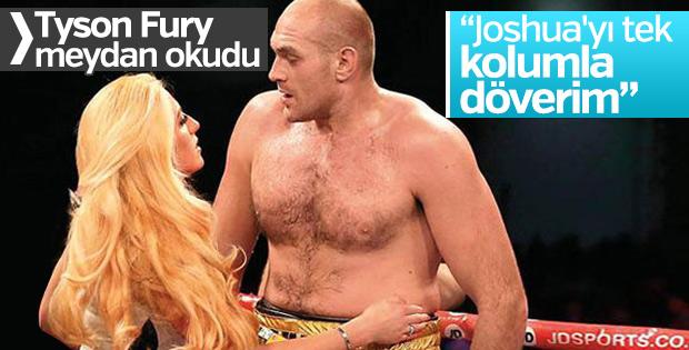 Tyson Fury: Joshua'yı tek kolumla döverim