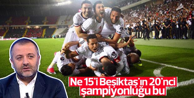 Mehmet Demirkol: Beşiktaş'ın 20. şampiyonluğu bu