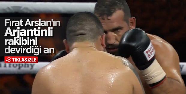 Fırat Arslan Emilio Valori'yi nakavt etti - İZLE