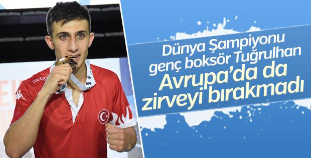 Genç boksör Tuğrulhan Erdemir Avrupa Şampiyonu