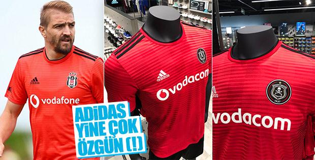 Adidas Beşiktaş ile Pirates'e aynı formayı tasarladı