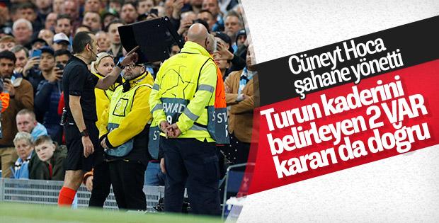 Cüneyt Çakır'ın VAR kararları