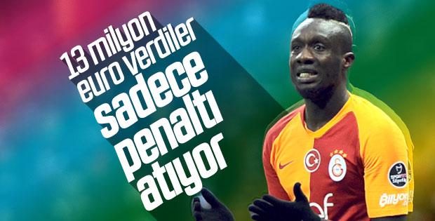 Galatasaray'ın penaltıcısı Diagne