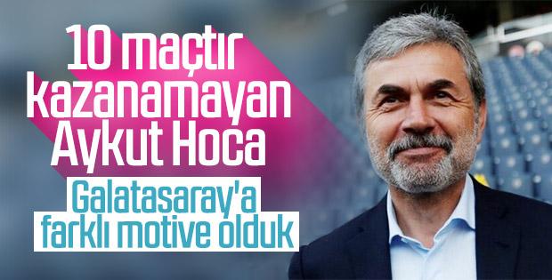 Aykut Kocaman: Galatasaray maçına hazırız