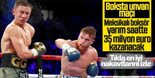 Unvan maçında boksörler çok para kazanacak