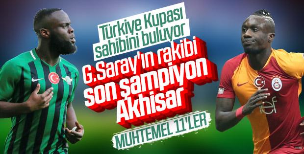 Galatasaray-Akhisarspor maçının muhtemel 11'leri