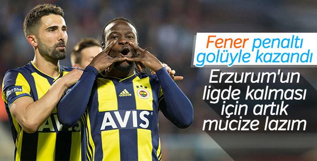 Fenerbahçe, Erzurumspor'u ateşe attı