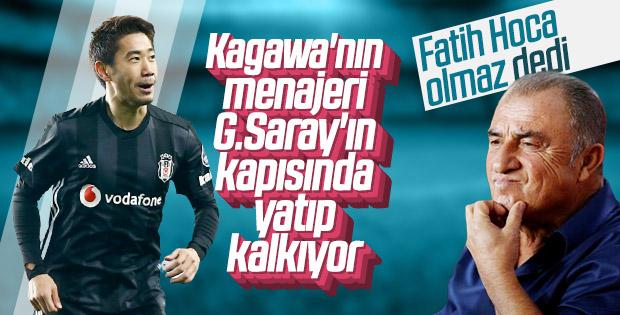 Menajeri Kagawa'yı Galatasaray'a önerdi