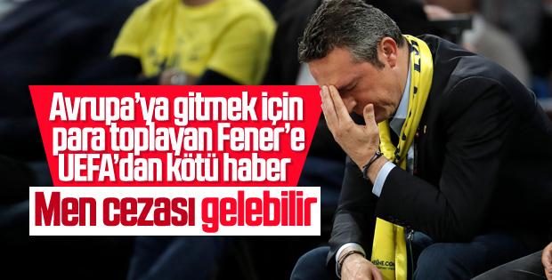 UEFA'dan Fenerbahçe'ye kötü haber