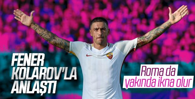 Fenerbahçe Kolarov'u ikna etti