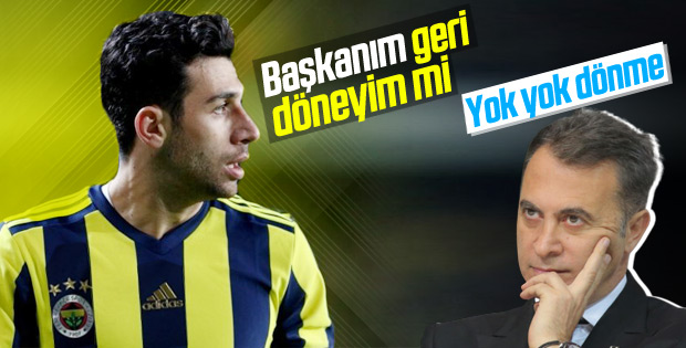 İsmail Beşiktaş'a dönmek istedi