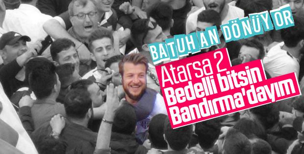 Batuhan Karadeniz, Bandırma'da kaldı
