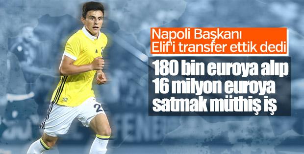 Napoli, Eljif Elmas transferini duyurdu