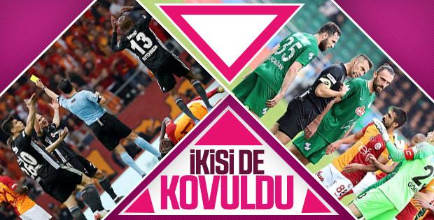 Serkan Çınar ve Bülent Yıldırım'a Süper Lig'de maç yok