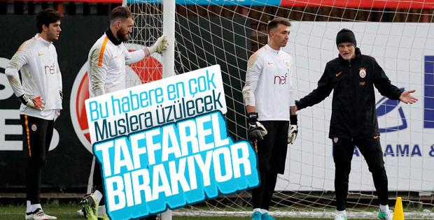 Taffarel, Galatasaray'dan ayrılıyor