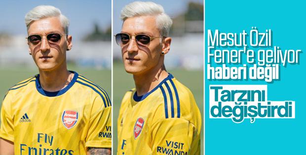 Mesut Özil'in yeni tarzı