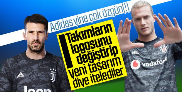 Adidas, Beşiktaş'la Juventus'a aynı formayı tasarladı