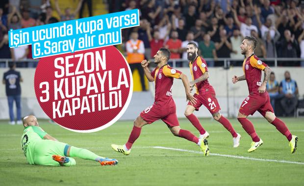 Süper Kupa'da şampiyon Galatasaray
