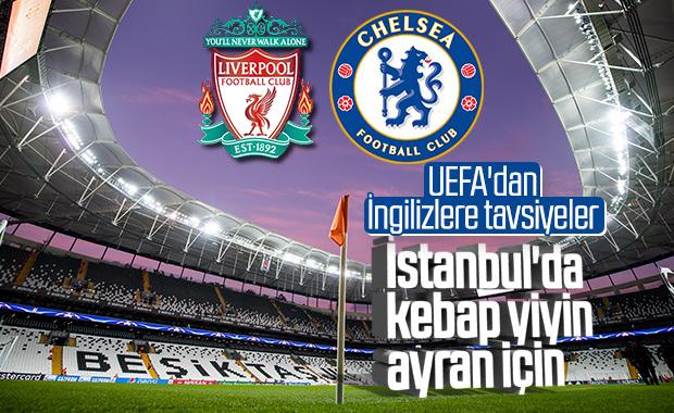 UEFA'dan İngilizlere: İstanbul'da kebap yiyin