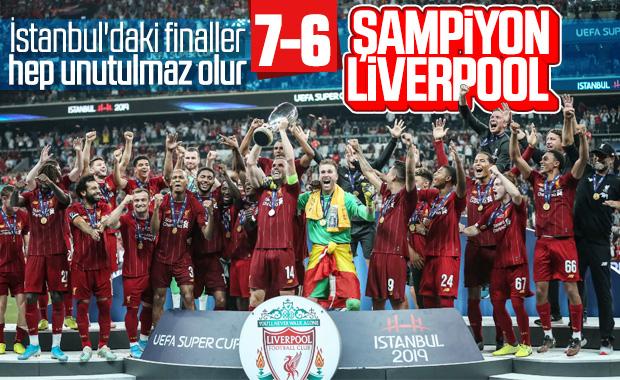 Süper Kupa'da şampiyon Liverpool